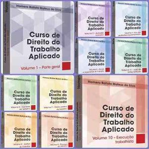 Curso De Direito Do Trabalho Aplicado - Coleção Com 10