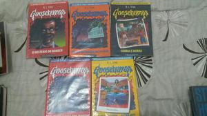 Goosembumps livros