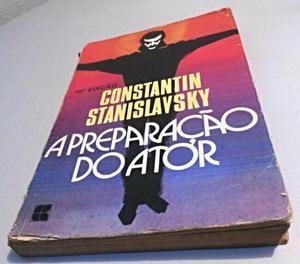 Livro A Preparação do Ator - Constantin Stanislavski