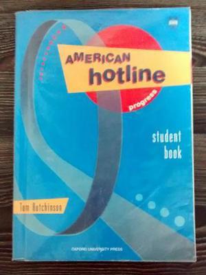 Livro: American Hotline Progress - Student Book - Tom