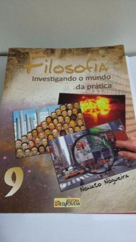 Livro Filosofia Investigando O Mundo Da Prática 9 Ano