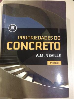 Livro Propriedades do Concreto 5º Edição