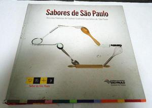 Livro Sabores de São Paulo