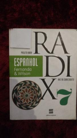 Livro de Espanhol 7º ano