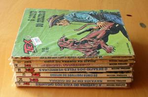 Lote 7 Gibis Tex, Fase Editora Vecchi