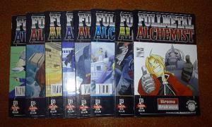 Mangás Fullmetal Alchemist (ver volumes disponíveis)