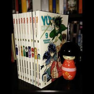 Mangás YuYu Hakusho números 1 ao 9 lançamento JBC