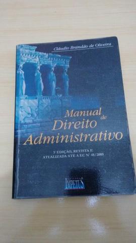 Manual de Direito Administrativo - Cláudio Brandão de