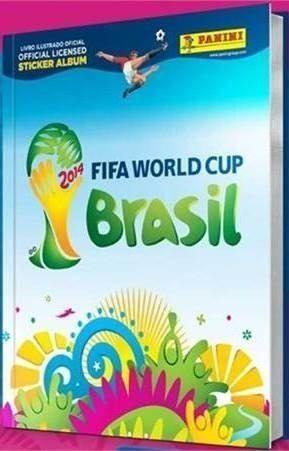 Álbum COPA do Mundo do Brasil  completo em capa dura