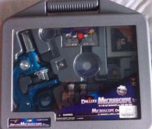 Brinquedo Jogo Microscopio Deluxe Microscope Set