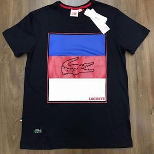 db09663da9501 Camisa lacoste live básica com bolso original   Posot Class