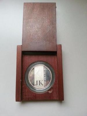 Medalha Comemorativa 100 Anos De Jk