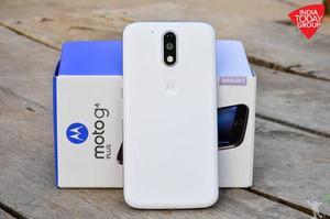 Motorola Moto G4 Plus 32GB 4G Dual Chip branco novo