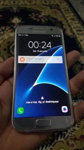Samsung Galaxy S7 Flat 32GB Trincado