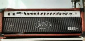 Amplificador head Peavey + plus válvulas jj tesla 60w