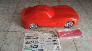 Automodelo Chrysler Viper 1/7 Motor a combustão