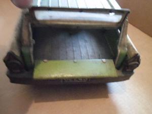 Fairlane perua fricção lata litografia antigo brinquedo