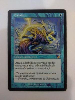 MtG Magic the Gathering - Flagelo - 1x Asfixiar em