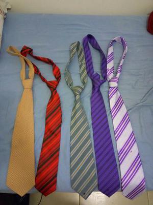 Vendo kit 5 gravatas de nó