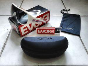 "Óculos evoke original, modelo ""amplifier aviator"" branco 055661945f"