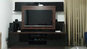 Painel de TV e rack com Armário
