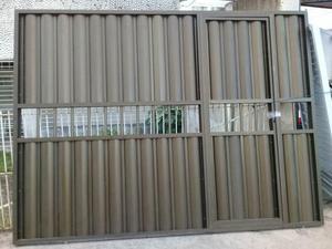 Promoção portão de alumínio
