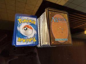 Coleção 273 cards Magic + 31 cards Pokémon