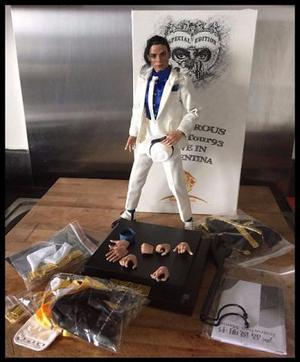 Escala 1/6 hot toys Michael Jackson edição especial raro