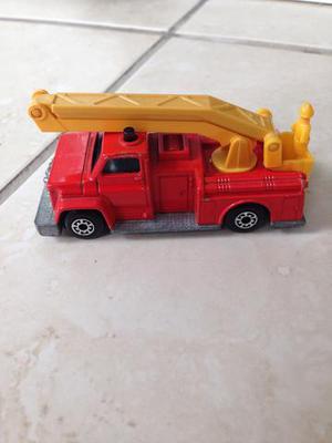 Matchbox numero 13 snorkel fire engine