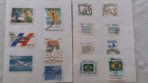 + de 150 selos - anos  e 90