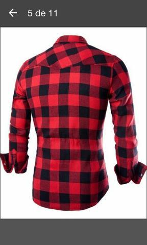 Camisa xadrez nova M