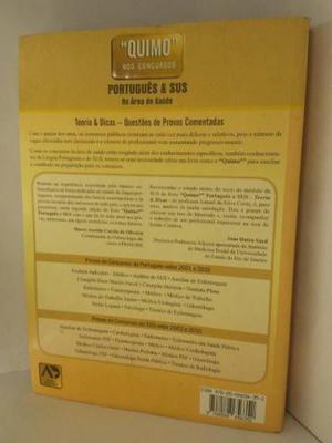 Livro Quimo nos concursos portugues e Sus