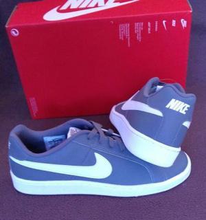 Tênis Nike Court Royale Cinza Tam  (Original novo
