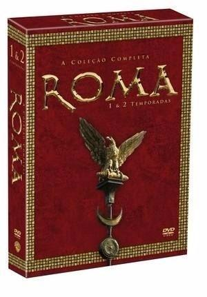 Box Coleção Completa Roma 1ª E 2ª Temporadas