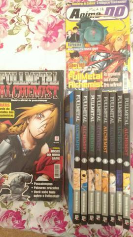 Fullmetal Alchemist do novo JBC
