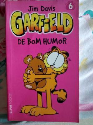 Garfield de bom humor Jim Davis bom estado