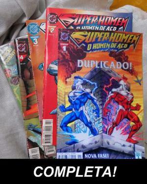 HQ / Gibi - Coleção Completa Super-Homem, O Homem de aço,
