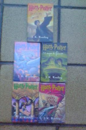 Harry Potter - 5 Livros - Novos e Lacrados