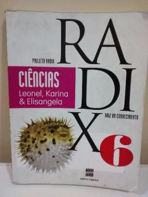 Livro Ciências Projeto Radix 6 Ano - 2 Edição