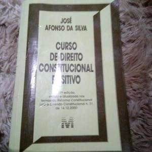 Livro Curso de Direito Constitucional Positivo (Novo por $