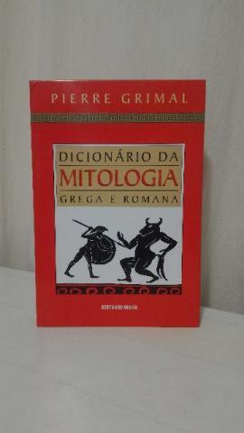 Livro Dicionario da Mitologia Grega e Romana Pierre Grimal