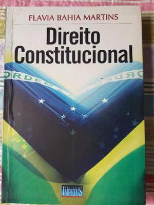 Livro Direito Constitucional Flavia Bahia Martins  bom