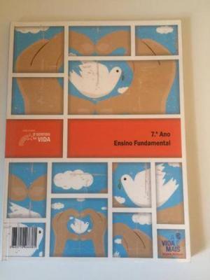 Livro Ensino religioso coleção O sentido da vida 7o. ano