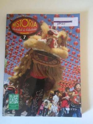 Livro História Sociedade e Cidadania 7o. ano