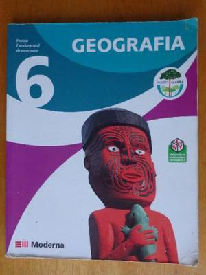 Livro Projeto Araribá Geografia 6º ano – Editora Moderna