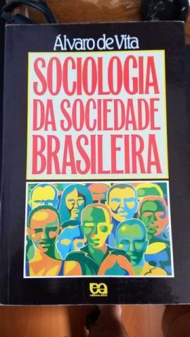Livro Sociologia da sociedade Brasileira