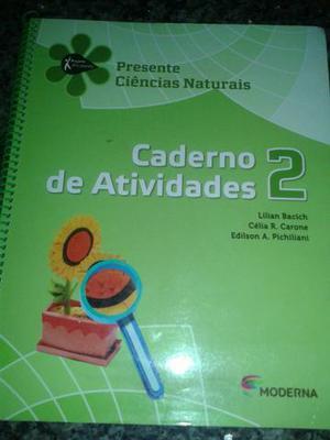Livro + caderno de atividades de ciências-Presente