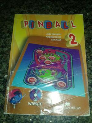 Livro + caderno de atividades de inglês Pinball/segunda