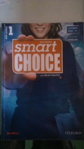 Livro de Inglês Smart Choice 1
