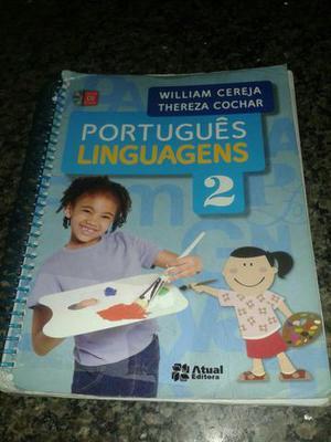 Livro de Português Linguagens/segunda série